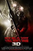 "Poster art for ""My Bloody Valentine."""
