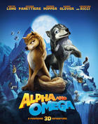 Poster art for &quot;Alpha and Omega.&quot;