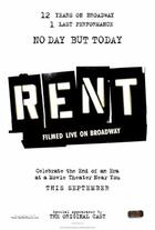 Poster art for &quot;Rent: Filmed Live on Broadway.&quot;