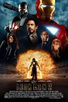 "Poster art for ""Iron Man 2."""