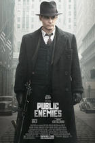 "Poster art for ""Public Enemies."""
