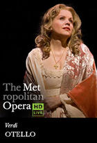 Poster art for &quot;The Metropolitan Opera: Otello.&quot;