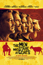 Poster art for &quot;The Men Who Stare at Goats.&quot;