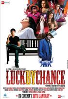 "Poster Art for ""Luck by Chance."""