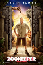 Teaser Poster Art for &quot;Zookeeper.&quot;