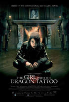 "Poster art for ""The Girl With the Dragon Tattoo."""