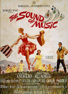 "Poster art for ""The Sound of Music"""