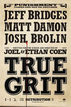 Poster art for &quot;True Grit&quot;