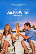 "Poster art for ""Just Go With It"""