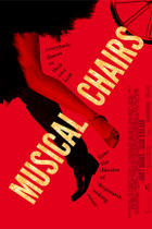 "Poster art for ""Musical Chairs."""