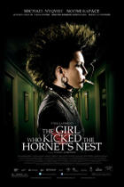 Poster art for &quot;The Girl Who Kicked the Hornet&#39;s Nest&quot;