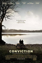 Poster art for &#39;Conviction.&#39;
