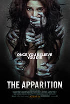 "Poster art for ""The Apparition."""