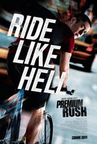 "Poster art for ""Premium Rush."""