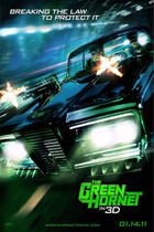 "Poster art for ""The Green Hornet 3D"""