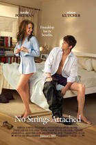 Poster art for &quot;No Strings Attached.&quot;
