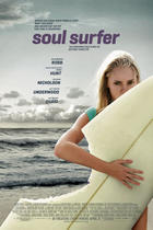 "Poster art for ""Soul Surfer."""