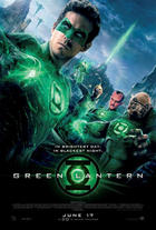 "Poster art for ""Green Lantern."""