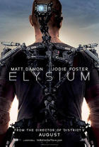 Poster art for &quot;Elysium.&quot;