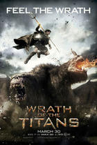 "Poster art for ""Wrath of the Titans."""