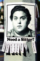 "Poster art for ""The Sitter."""