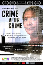 "Poster art for ""Crime After Crime."""