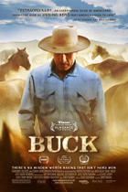 "Poster art for ""Buck."""