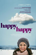 Poster art for &quot;Happy Happy.&quot;