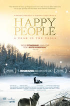 Poster art for &quot;Happy People: A Year in the Taiga.&quot;