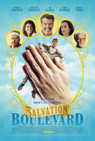 "Poster art for ""Salvation Boulevard."""