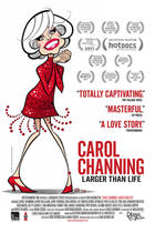 Poster art from &quot;Carol Channing: Larger Than Life.&quot;