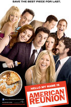 "Poster art for ""American Reunion."""