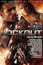 Poster art for &quot;Lockout.&quot;