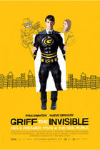 "Poster art for ""Griff the Invisible."""