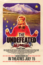Poster art for &quot;The Undefeated.&quot;