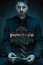 Poster art for &quot;Puncture.&quot;