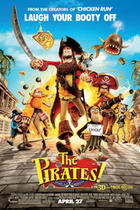 "Poster art for ""Pirates! Band of Misfits."""
