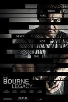 "Poster art for ""The Bourne Legacy."""
