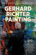 Poster art for &quot;Gerhard Richter Painting.&quot;