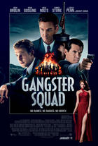 "Poster art for ""Gangster Squad."""