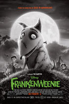 "Poster art for ""Frankenweenie."""
