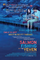 Poster art for &quot;Salmon Fishing in the Yemen.&quot;