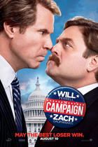 "Poster art for ""The Campaign."""
