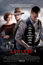 Poster art for &quot;Lawless.&quot;