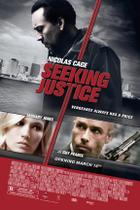"Poster art for ""Seeking Justice."""