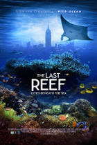 "Poster art for ""The Last Reef: Cities Beneath the Sea."""