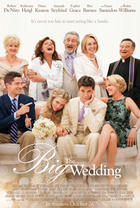 "Poster art for ""The Big Wedding."""