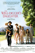 "Poster art for ""The Well Digger's Daughter."""