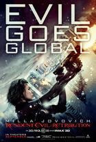 Poster art for &quot;Resident Evil: Retribution 3D.&quot;