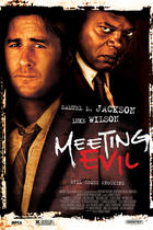Poster art for &quot;Meeting Evil.&quot;